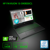 HP PAVILION GAMING 15-DK0035CL FHD | i7-9750H - 16GB RAM - 256GB SSD+1TB HDD - GTX 1650 4GB - Win 10