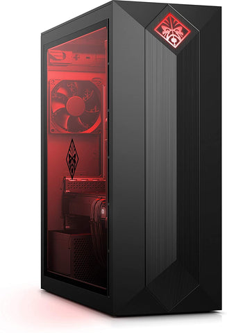 B.NEW | HP OMEN Obelisk 875-0034 | i7-9700 - 16GB RAM - GTX 1660Ti 6GB - 1TB HDD + 256GB SSD - Win10