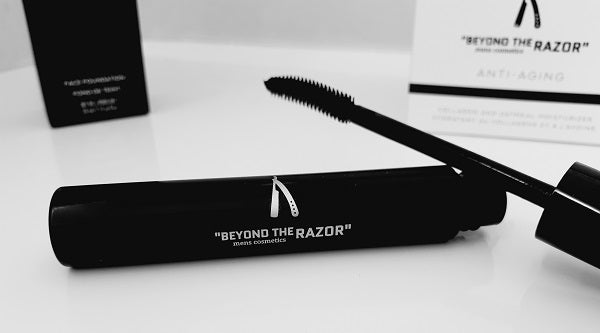 "Mens Mascara - Intense Black - ""beyond the razor"""