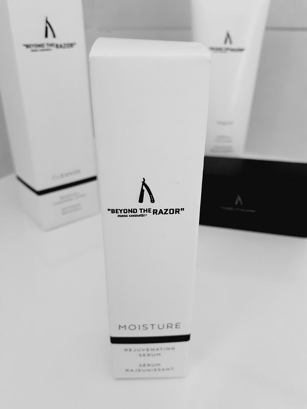 """Beyond the Razor""- Mens Moisture - Rejuvenating Serum 20ml - ""beyond the razor"""