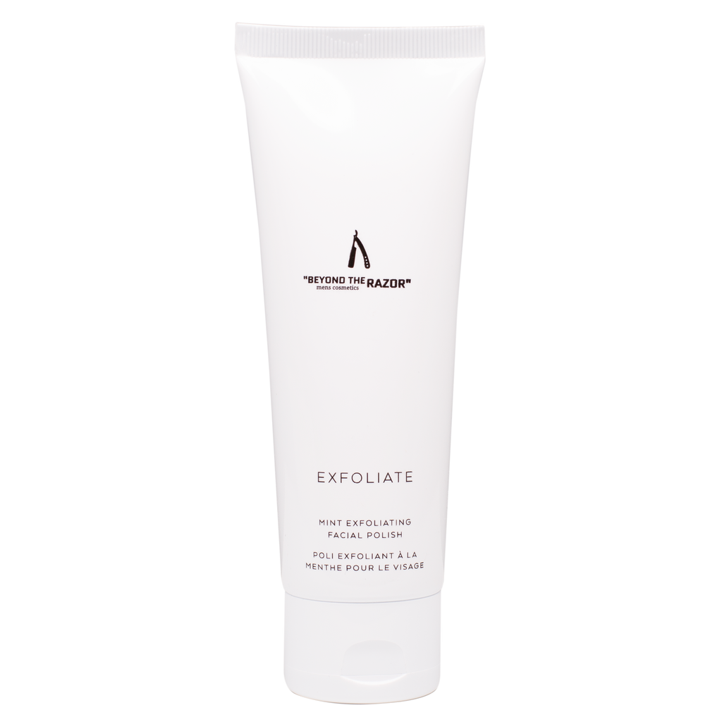 "Mens Exfoliate 120ml - ""beyond the razor"""