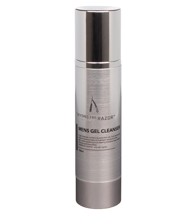 "Mens Gel Cleanser - 100ml - ""Executive Collection"" - ""beyond the razor"""
