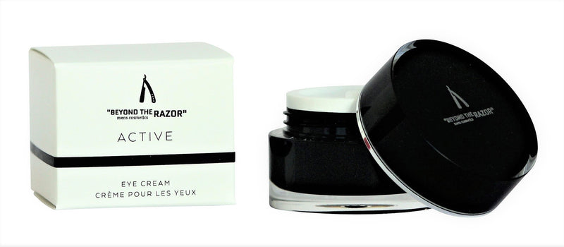 "Mens Active Eye Cream - ""beyond the razor"""