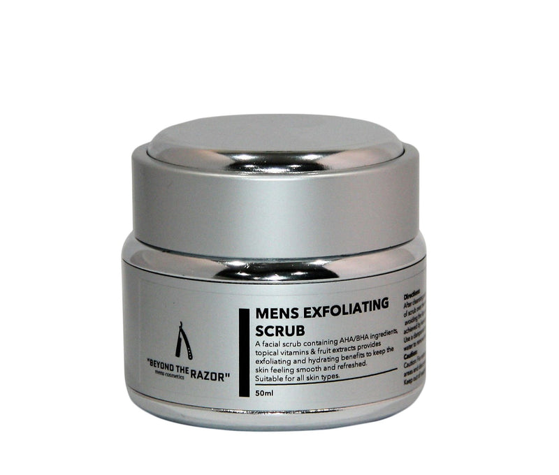 "Mens Exfoliating Scrub 50ml- ""Executive Collection"" - ""beyond the razor"""