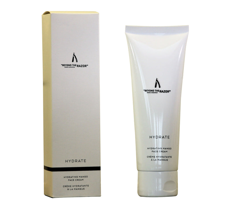 "Mens Hydrating Mango Face Creme 120ml - ""beyond the razor"""