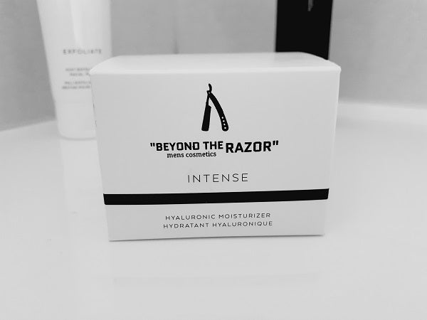 """Beyond the Razor""- Mens Intense Hyaluronic Moisturiser Creme 50ml - ""beyond the razor"""