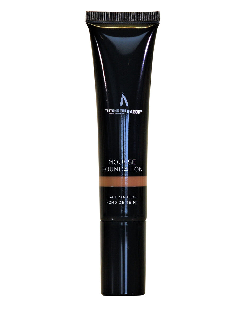 "Men's Mousse Foundation - ""beyond the razor"""
