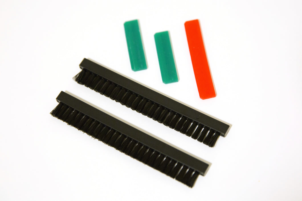Hanging Frame Brush Replacement Kit for food safe cleaner systems