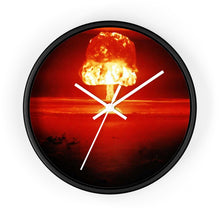 Peace Sells...But Who's Buying? Wall clock