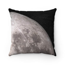 Double-Sided Quarter Moon Pillow