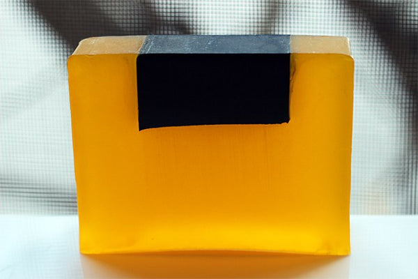 XL Lemon/Peppermint Charcoal Soap Bar