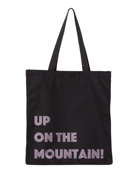 Up On The Mountain! Shopping Tote by Monkeys For Helping