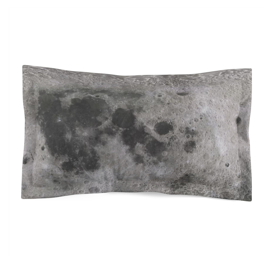 Lunar Surface Microfiber Pillow Sham