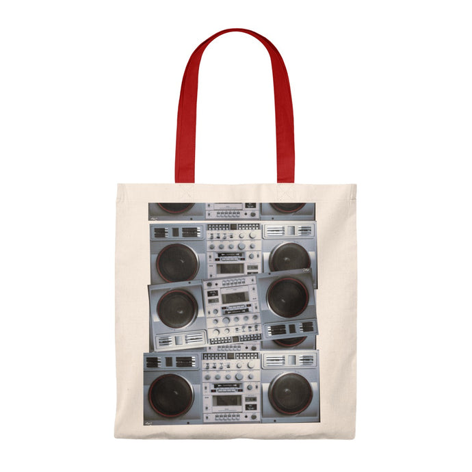 Boombox Shopping Tote