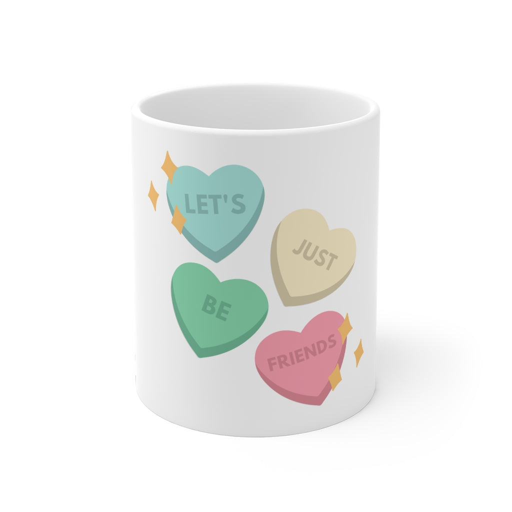 Let's Just Be Friends Coffee Mug