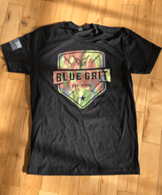 """Angel Of The Night"" T-Shirt - camo/black - Blue Grit"