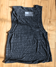 Women's HTL muscle tank - Blue Grit