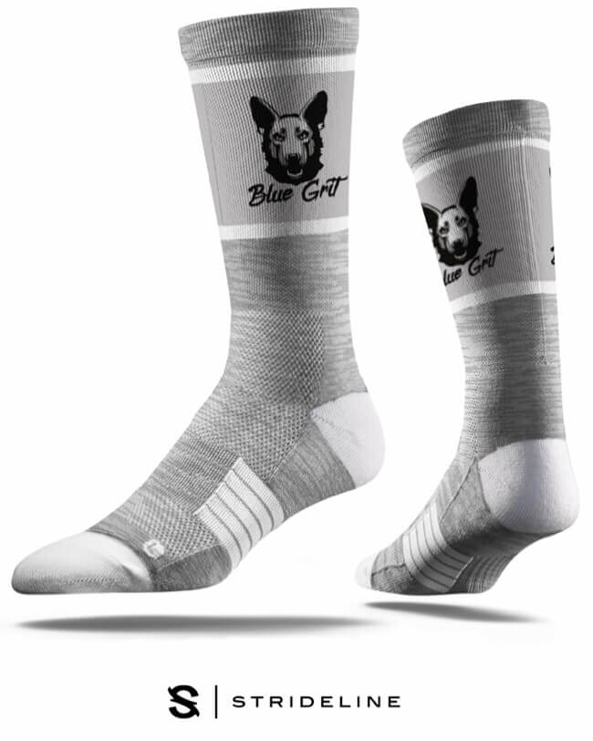 Blue Grit K9 Performance Sock - Blue Grit