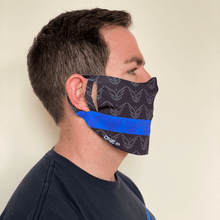 TBL face mask - Blue Grit