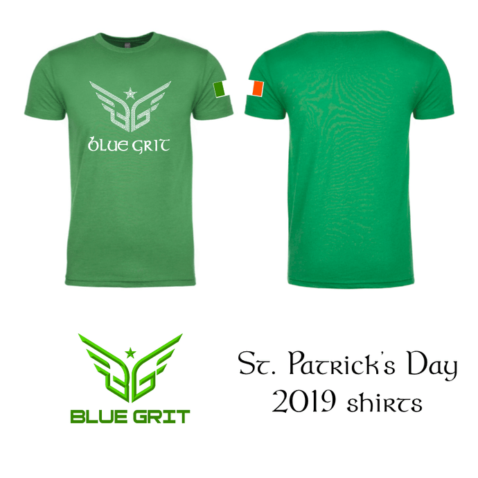 2019 St. Patrick's Day shirt - Blue Grit