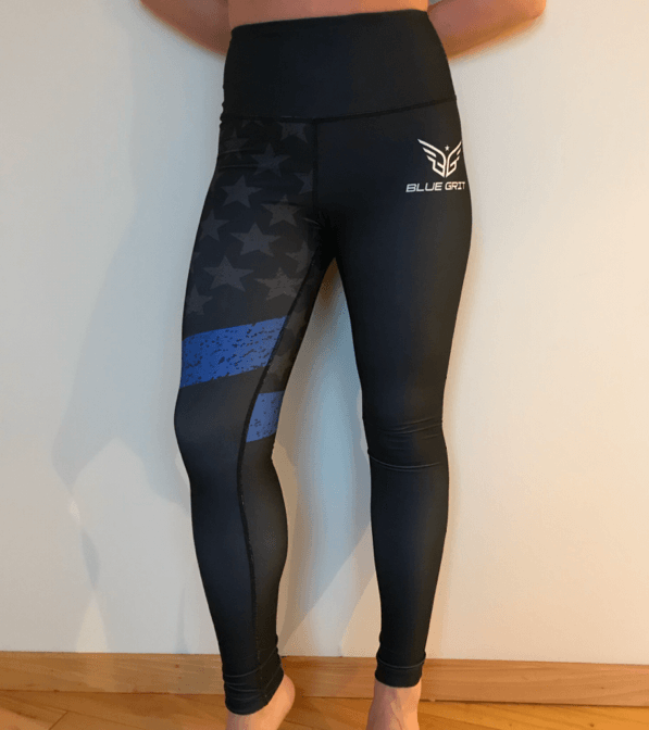 TBL legging - Blue Grit