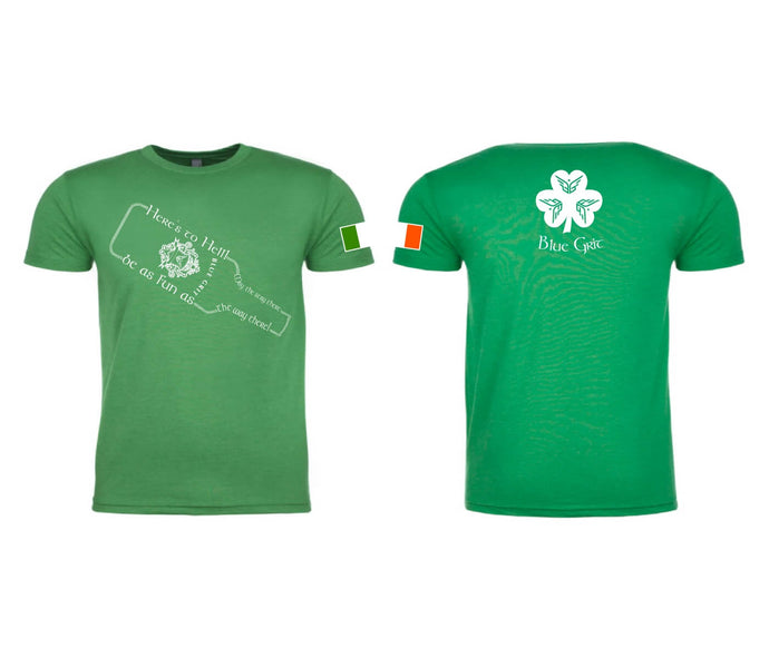 2018 St. Patrick's Day shirt - Blue Grit