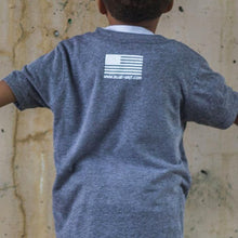 Kid's 'Merica T-Shirt - Blue Grit