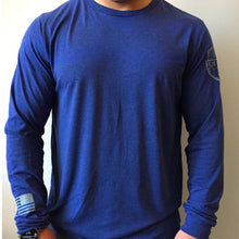 Subtle Pride Long Sleeve - Blue Grit