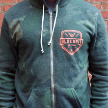 "Limited Edition ""Urban Hide"" Hoodie - Blue Grit"