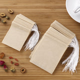200pcs Drawstring Tea Bag Filter Paper Empty Tea Pouch Bags for Loose Leaf Tea Powder Herbs