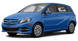 2016 Mercedes-Benz B250e, 4-Door Hatchback Electric Drive, South Seas Blue Metallic