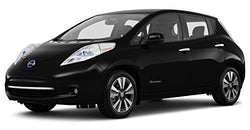 2017 Nissan Leaf SL, Hatchback, Super Black