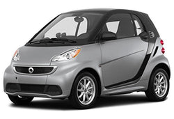 2016 Smart Fortwo Passion, 2-Door Coupe, Silver Metallic
