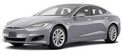 2016 Tesla S 75, 2016.5 4-Door Sedan Rear Wheel Drive, Silver Metallic