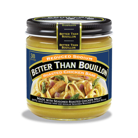 Reduced Sodium Roasted Chicken Base 8 oz.