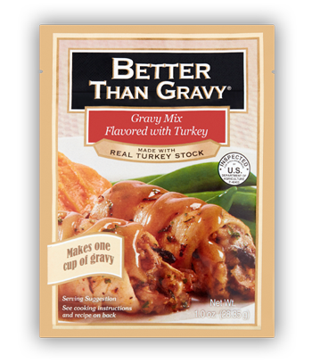 Better than Gravy Gravy Mix Flavored with Turkey