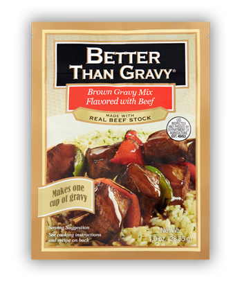 Better than Gravy Brown Gravy Mix Flavored with Beef
