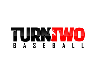 Turn two baseball logo