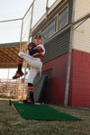 "6"" Tall Portable pitching mound for youth baseball! Easy to set up and roll around!"