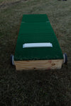 "10"" Tall Adult size portable pitching mound for high school age and above!"