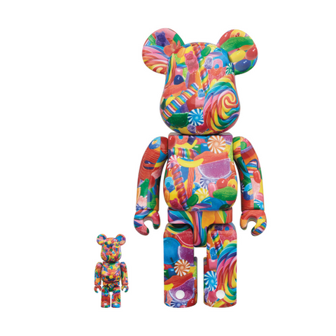 Bearbrick Dylan's Candy Bar 100% and 400% Set