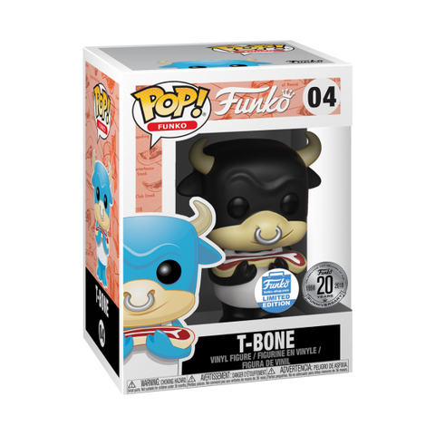 Funko Pop Spastik Plastik - T-Bone (Black)
