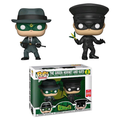 Funko Pop Television Green Hornet - The Green Hornet & Kato 2-Pack