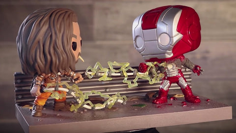 Funko Pop Marvel Momie Moments - Whiplash vs. iron Man