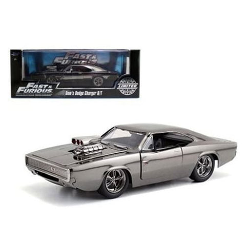 Fast Furious 7 Dom's 1969 Dodge Charger Chrome Edition Vehicle