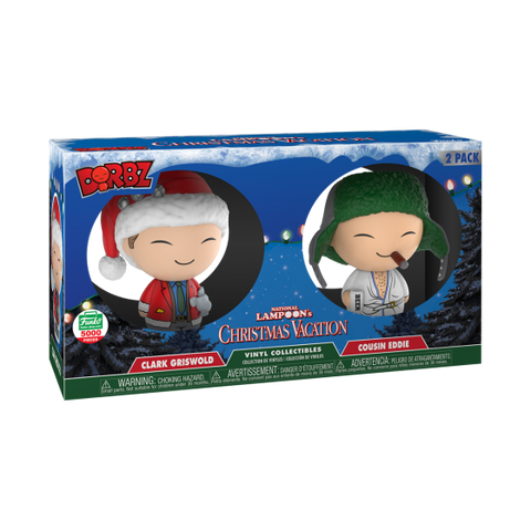 Funko Dorbz Clark Griswold and Cousin Eddie 2-Pack