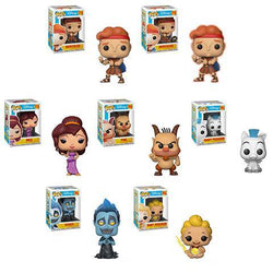 Funko Pop Disney Hercules Set of 7 with Chase