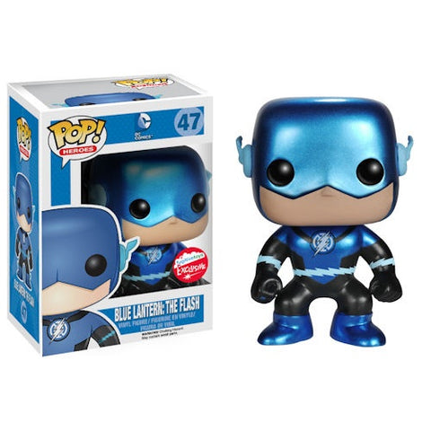 Funko Pop DC Blue Lantern The Flash (Metallic)
