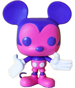 Funko Pop Disney Mickey's 90th - Mickey Mouse (Pink/Purple)