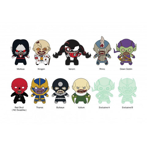 Marvel Zombies 3D Figural Keychain - Blind Bag
